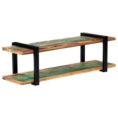 vidaXL Tv-meubel 130x40x40 cm massief gerecycled hout[10/11]