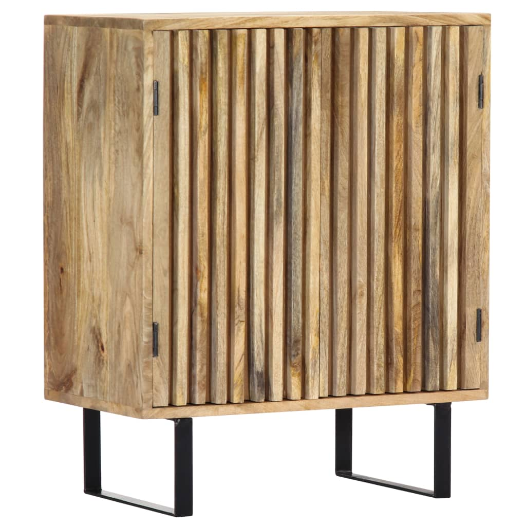 vidaXL Servantă, 60x35x75 cm, lemn masiv de mango poza vidaxl.ro