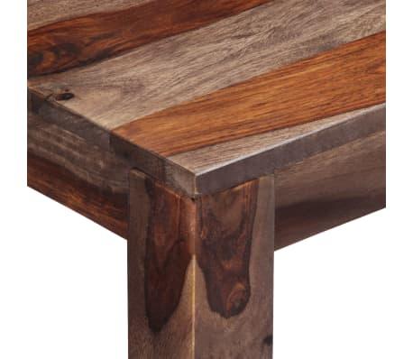 vidaXL Mesa consola 120x30x76 cm madera maciza de sheesham gris[5/11]