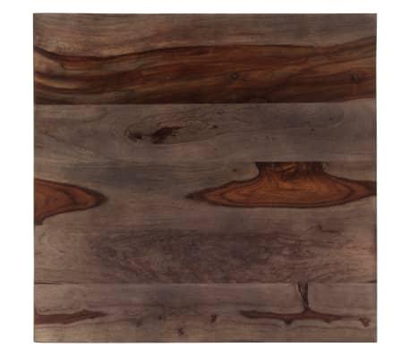 vidaXL Konferenční stolek šedý 60 x 60 x 35 cm masivní sheesham[6/11]