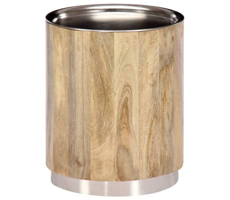 vidaXL Măsuță de cafea, 38x45 cm, lemn masiv de mango