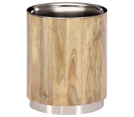 vidaXL Coffee Table 38x45 cm Solid Mango Wood