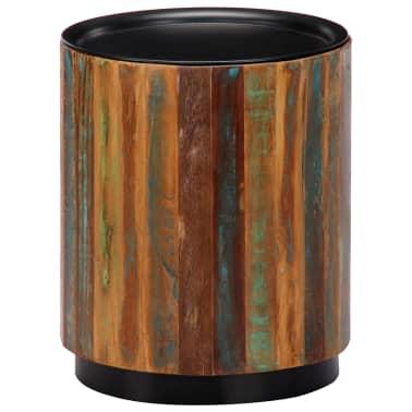 vidaXL Coffee Table 38x45 cm Solid Reclaimed Wood[1/12]