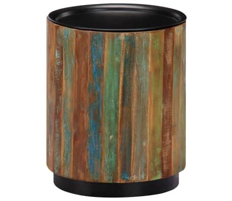 vidaXL Coffee Table 38x45 cm Solid Reclaimed Wood[11/12]