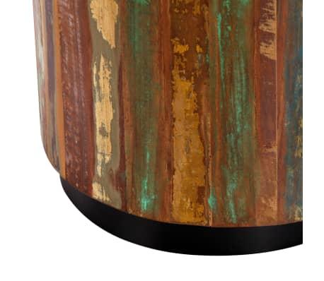 vidaXL Coffee Table 38x45 cm Solid Reclaimed Wood[7/12]