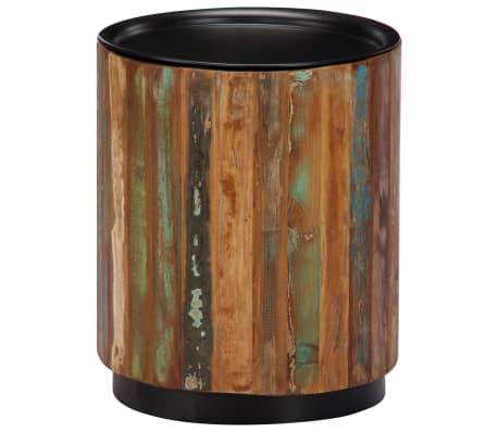 vidaXL Coffee Table 38x45 cm Solid Reclaimed Wood[9/12]
