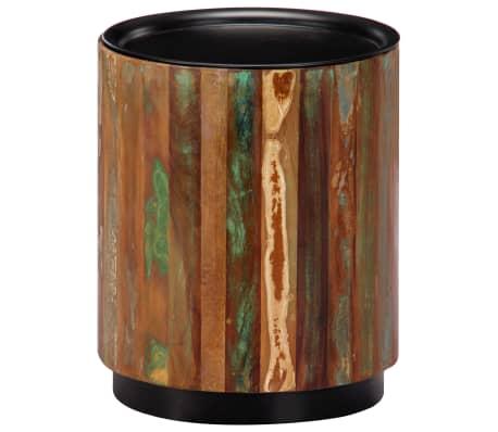 vidaXL Coffee Table 38x45 cm Solid Reclaimed Wood[10/12]