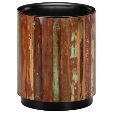 vidaXL Coffee Table 38x45 cm Solid Reclaimed Wood[12/12]