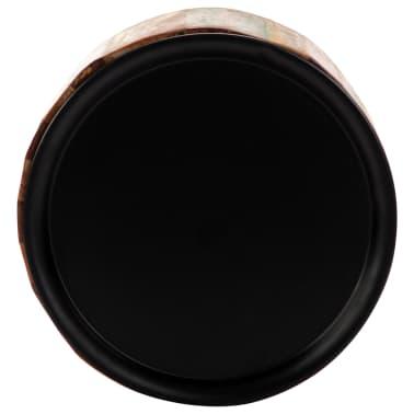vidaXL Coffee Table 38x45 cm Solid Reclaimed Wood[5/12]