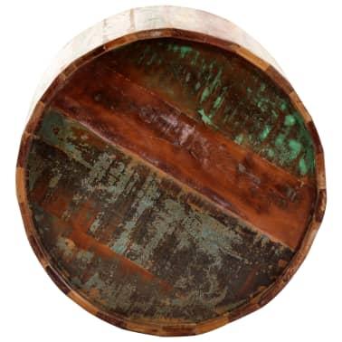 vidaXL Coffee Table 38x45 cm Solid Reclaimed Wood[6/12]