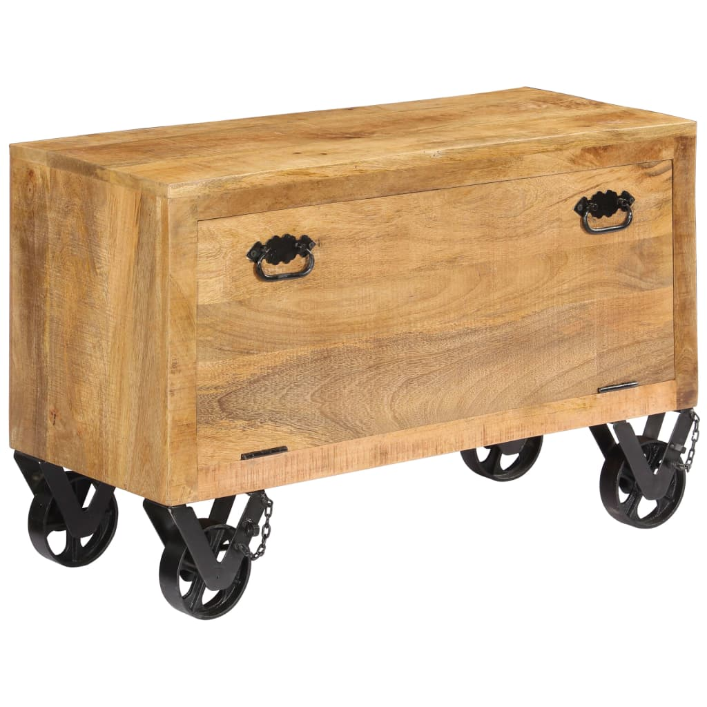 vidaXL Pantofar, 86 x 35 x 55 cm, lemn masiv de mango poza 2021 vidaXL