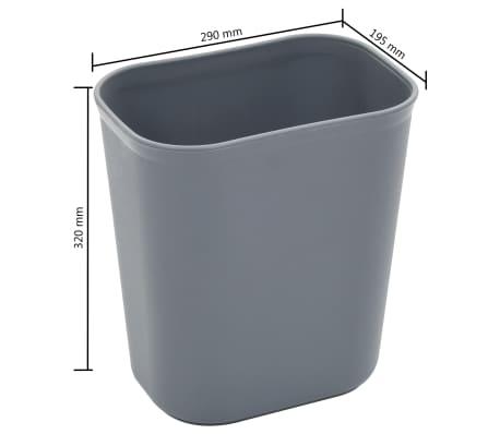 vidaXL Chariot de cuisine avec récipients en plastique 87x43,5x92 cm[11/11]