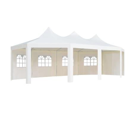 vidaXL Cenador de jardín 834x448x320 cm  blanco