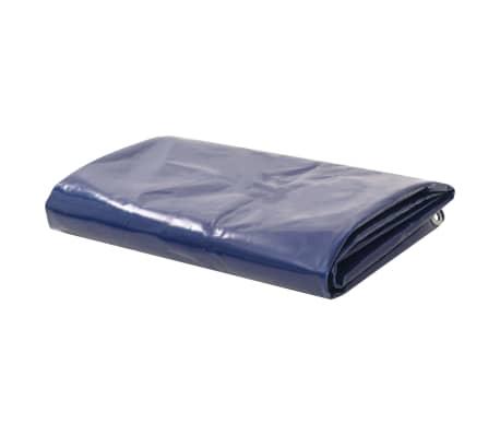 vidaXL Prelată, albastru, 1,5 x 6 m, 650 g / m²