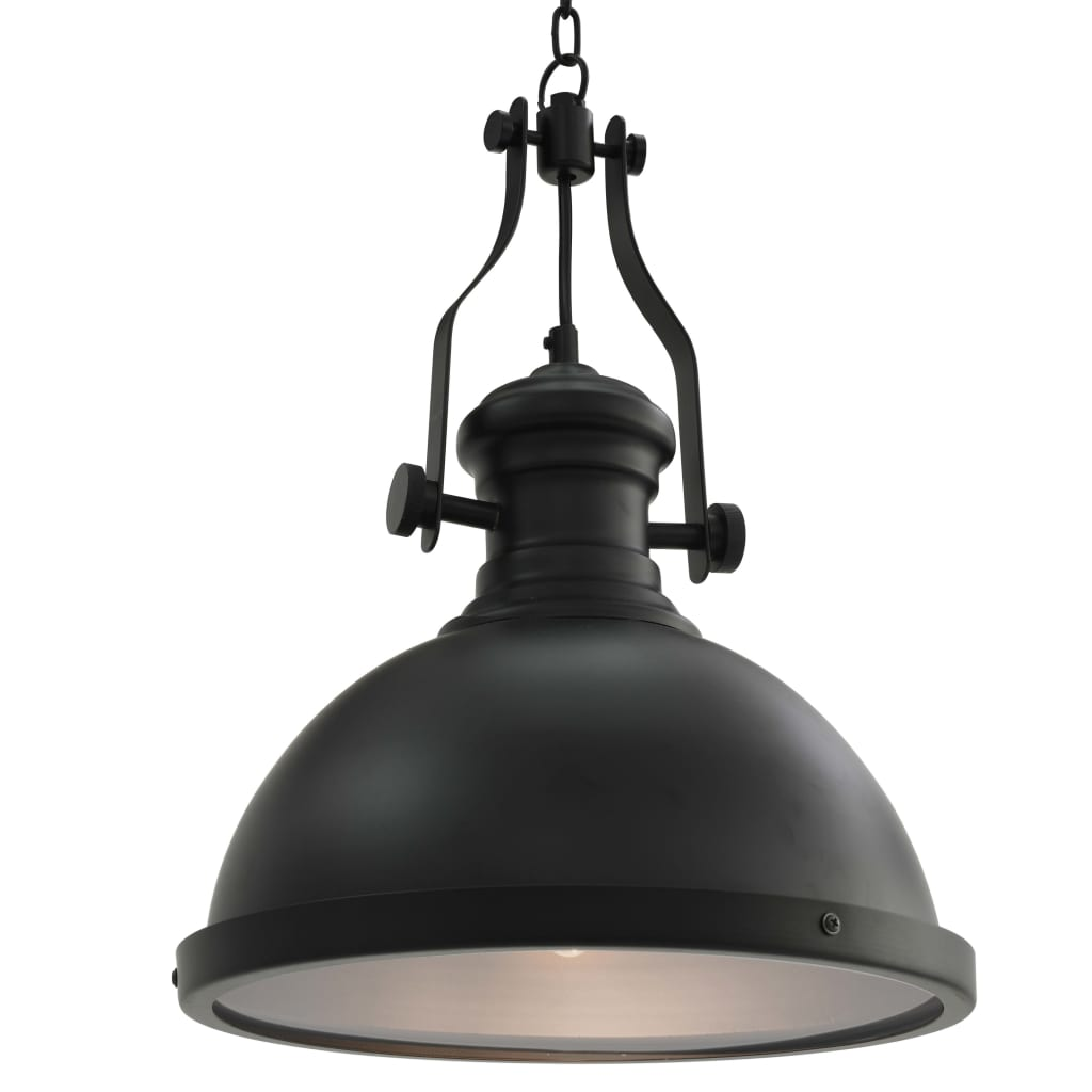 Stropní svítidlo černé kulaté E27