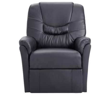 vidaXL Elektryczny fotel do masażu, z regulacją, szary, ekoskóra[2/11]