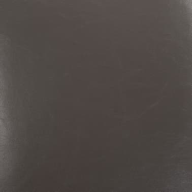 vidaXL Dining Chairs 2 pcs Gray Faux Leather[8/9]