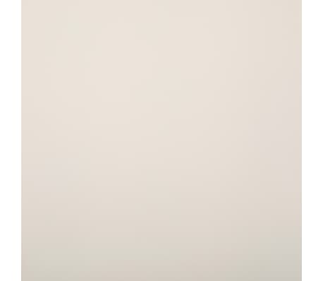 vidaXL Dining Chairs 4 pcs Cream Faux Leather[8/9]