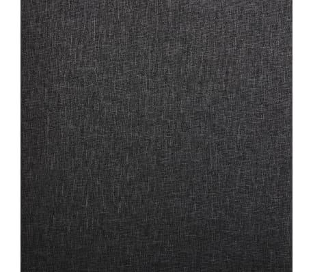 vidaXL Dining Chairs 2 pcs Dark Gray Fabric[8/9]