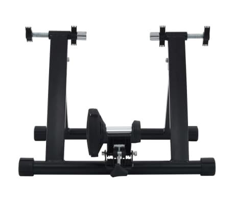 vidaXL Suport de bicicletă pentru antrenament, negru, 66-71 cm, oțel[5/10]