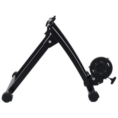 vidaXL Suport de bicicletă pentru antrenament, negru, 66-71 cm, oțel[6/10]