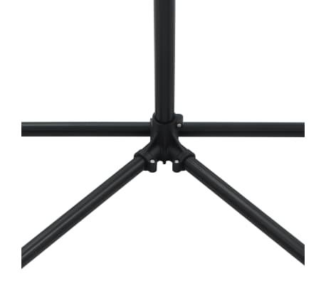 vidaXL Reparationsstativ för cykel 104x68x(110-190) cm stål svart[6/10]