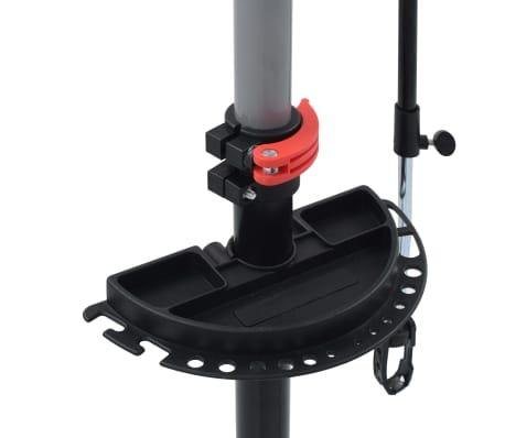 vidaXL Reparationsstativ för cykel 104x68x(110-190) cm stål svart[8/10]