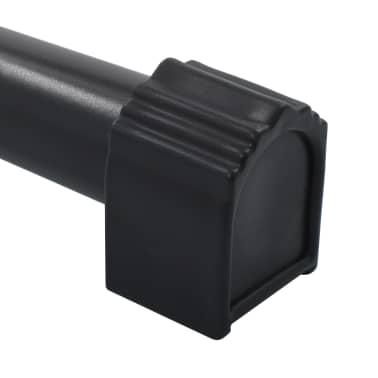 vidaXL Reparationsstativ för cykel 104x68x(110-190) cm stål svart[9/10]