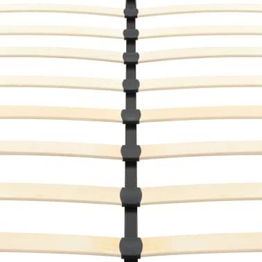 vidaXL Cadre de lit Noir Similicuir 200 x 160 cm[6/9]