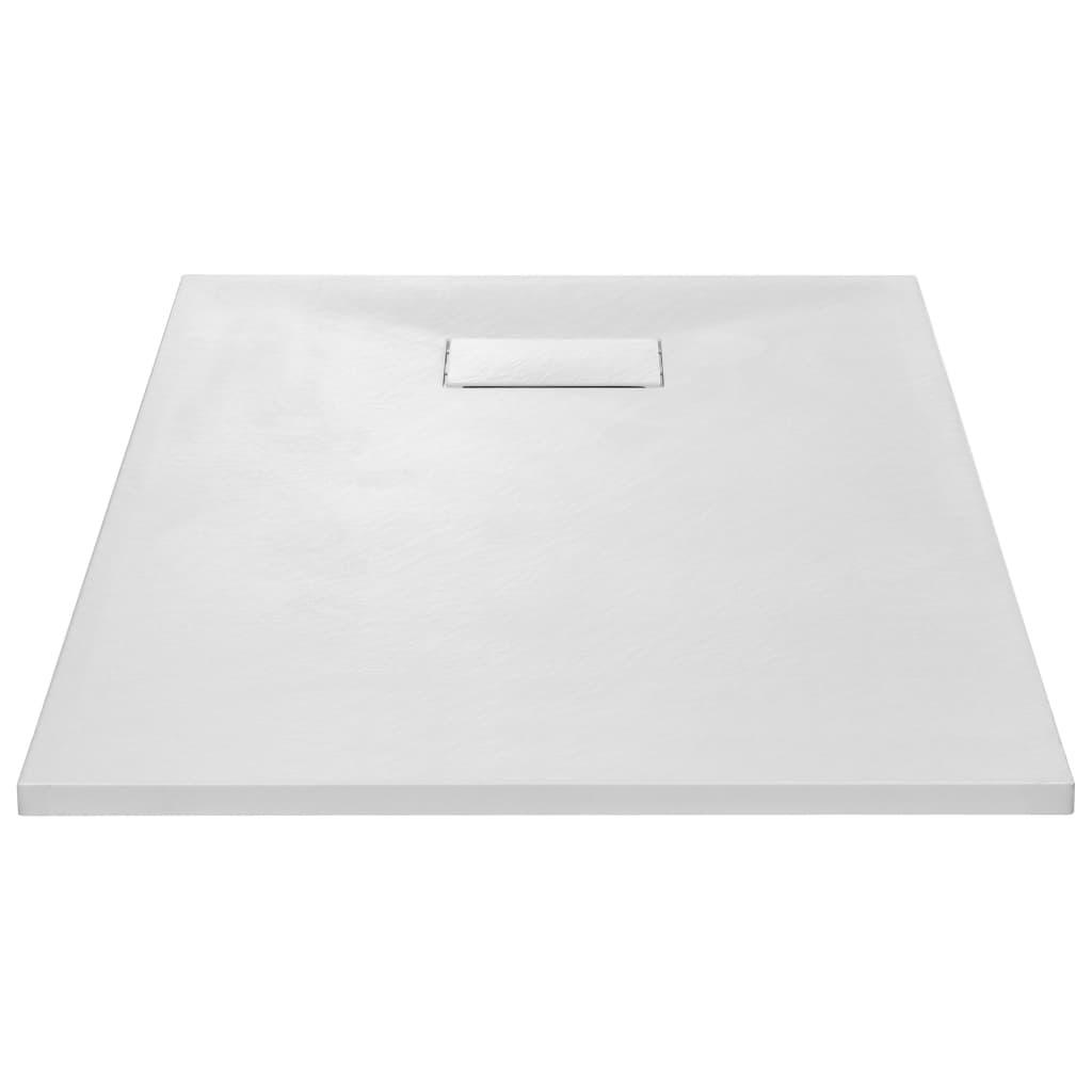 vidaXL Douchebak 120x70 cm SMC wit
