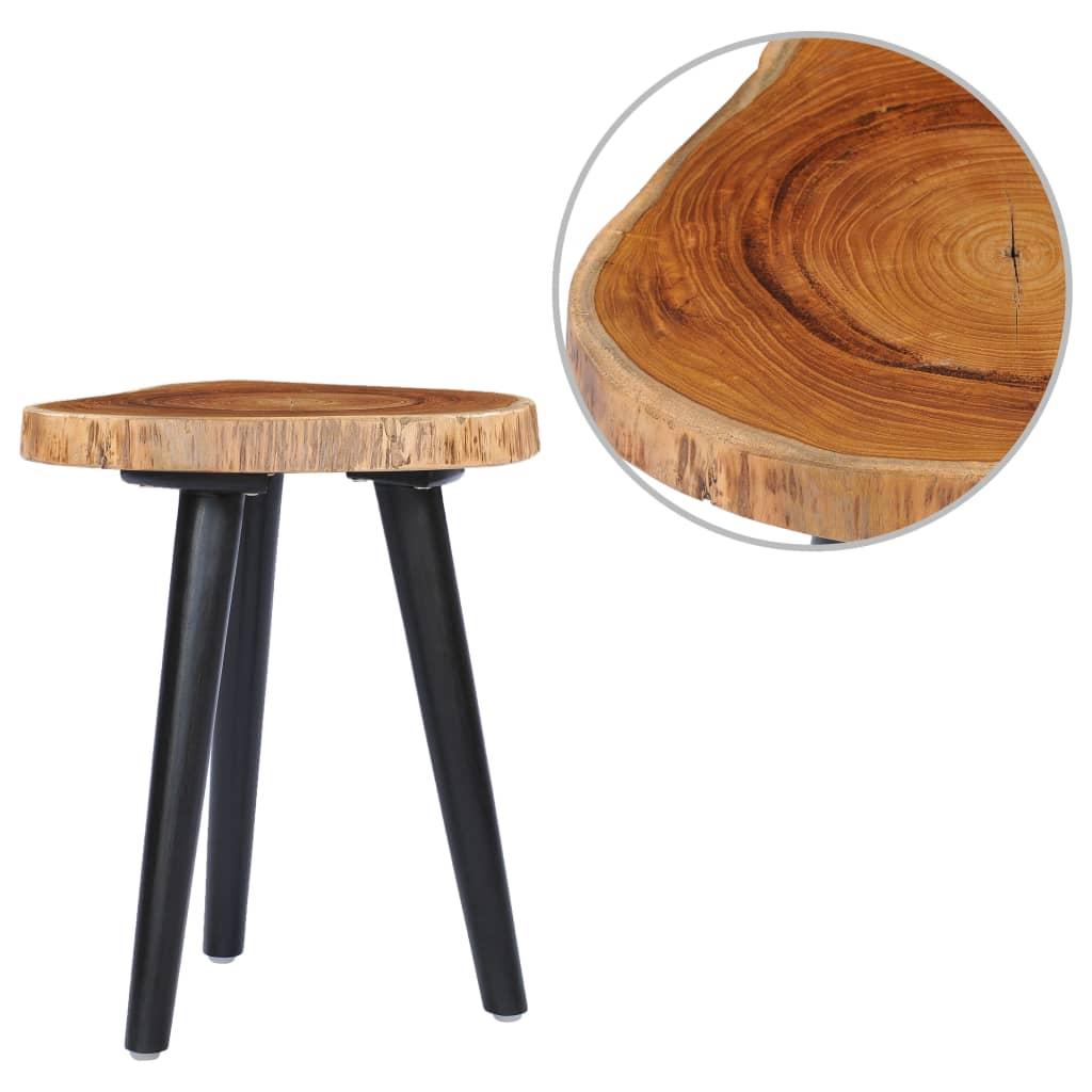 vidaXL Konferenční stolek 40 x 45 cm masivní teak