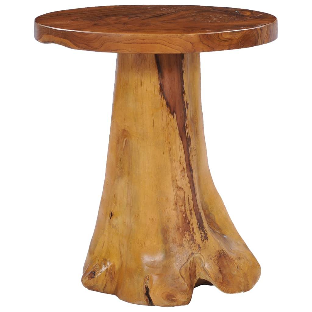 vidaXL Măsuță de cafea, 40x40 cm, lemn masiv de tec vidaxl.ro