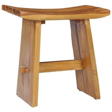 vidaXL Stool Solid Teak Wood[7/10]