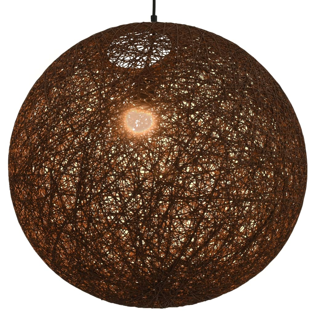 Laelamp, pruun, kera, 55 cm, E27