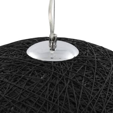 vidaXL Hanglamp E27 Ø50 cm zwart en goud[6/11]
