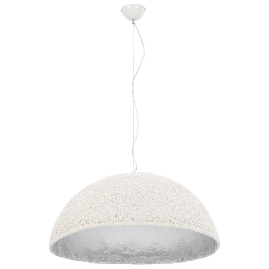 vidaXL Hanglamp E27 Ø70 cm wit en zilver