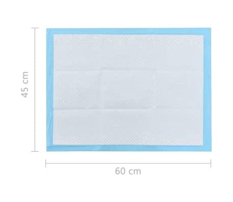 vidaXL Tapis d'hygiène pour chiens 100 pcs 60 x 45 cm Tissu non tissé[9/9]