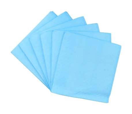 vidaXL Tapis d'hygiène pour chiens 100 pcs 60 x 60 cm Tissu non tissé[5/9]