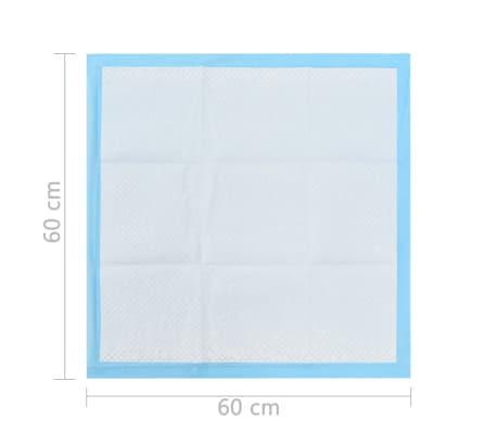 vidaXL Tapis d'hygiène pour chiens 200 pcs 60 x 60 cm Tissu non tissé[10/10]