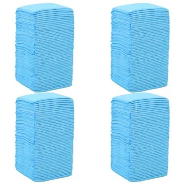 vidaXL Tapis d'hygiène pour chiens 200 pcs 60 x 60 cm Tissu non tissé[4/10]