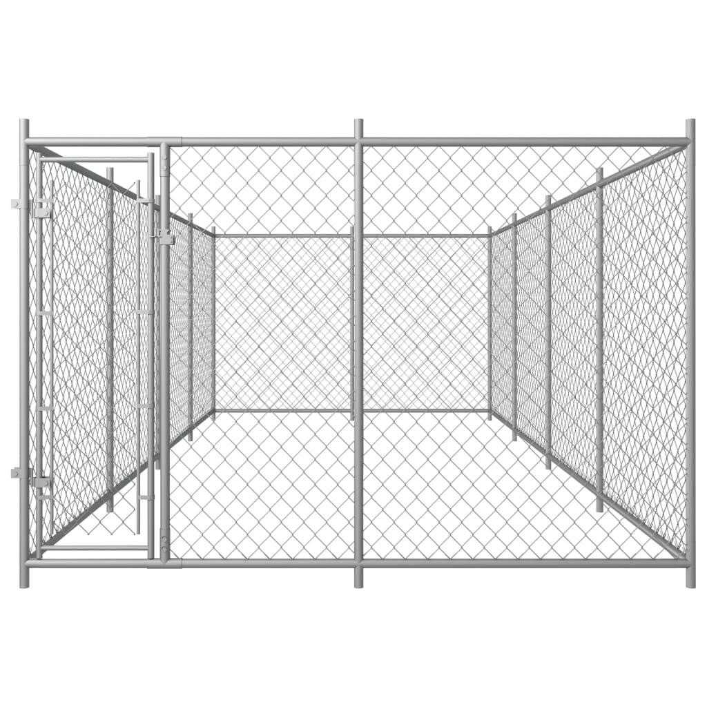 vidaXL Hondenkennel voor buiten 8x4x2 m