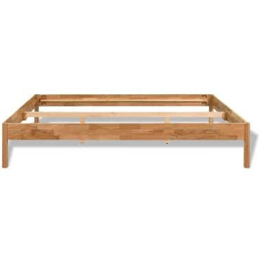 "vidaXL Bed Frame Solid Oak Wood 59.8""x79.9""[4/8]"