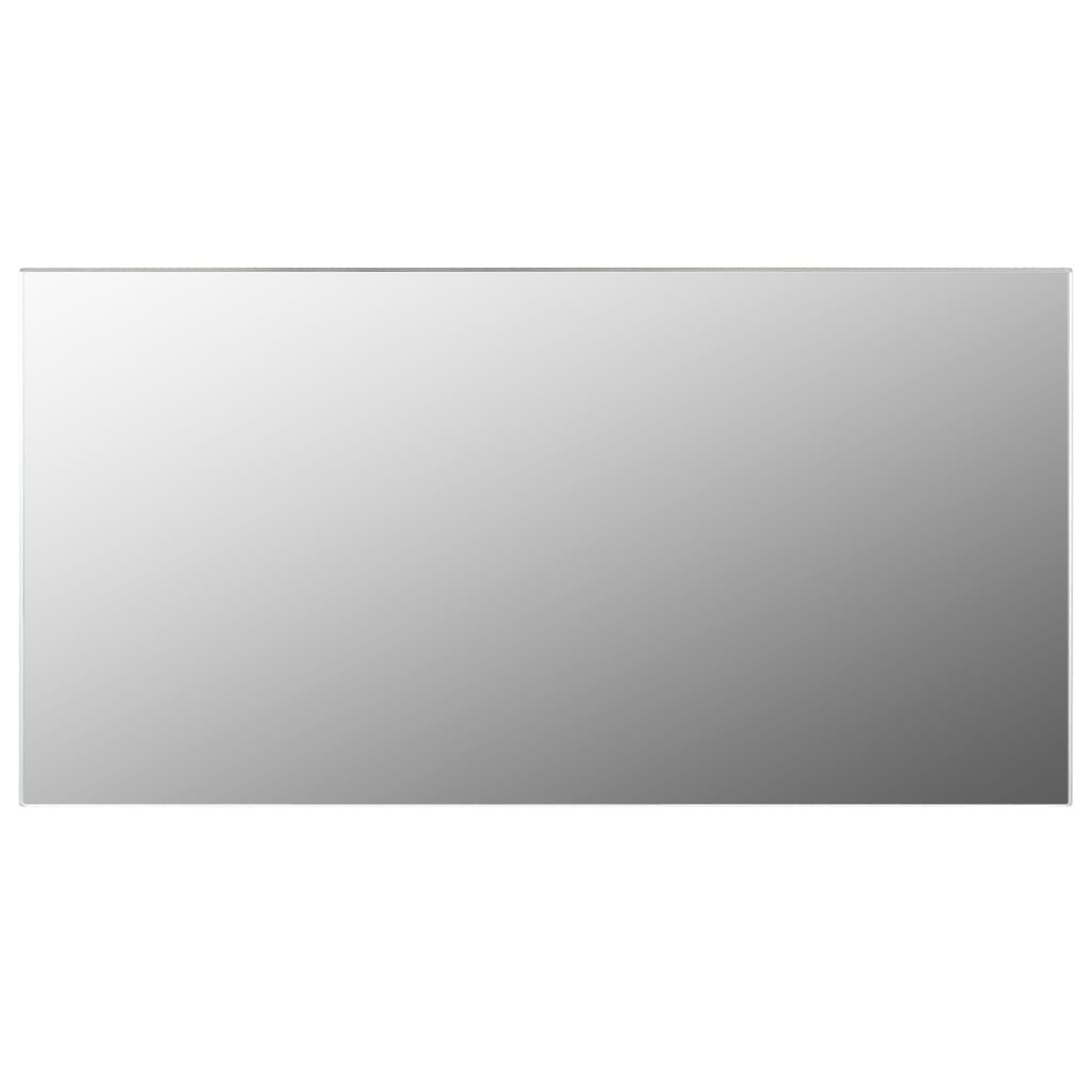 vidaXL Oglindă fără ramă,120x60 cm, sticlă imagine vidaxl.ro