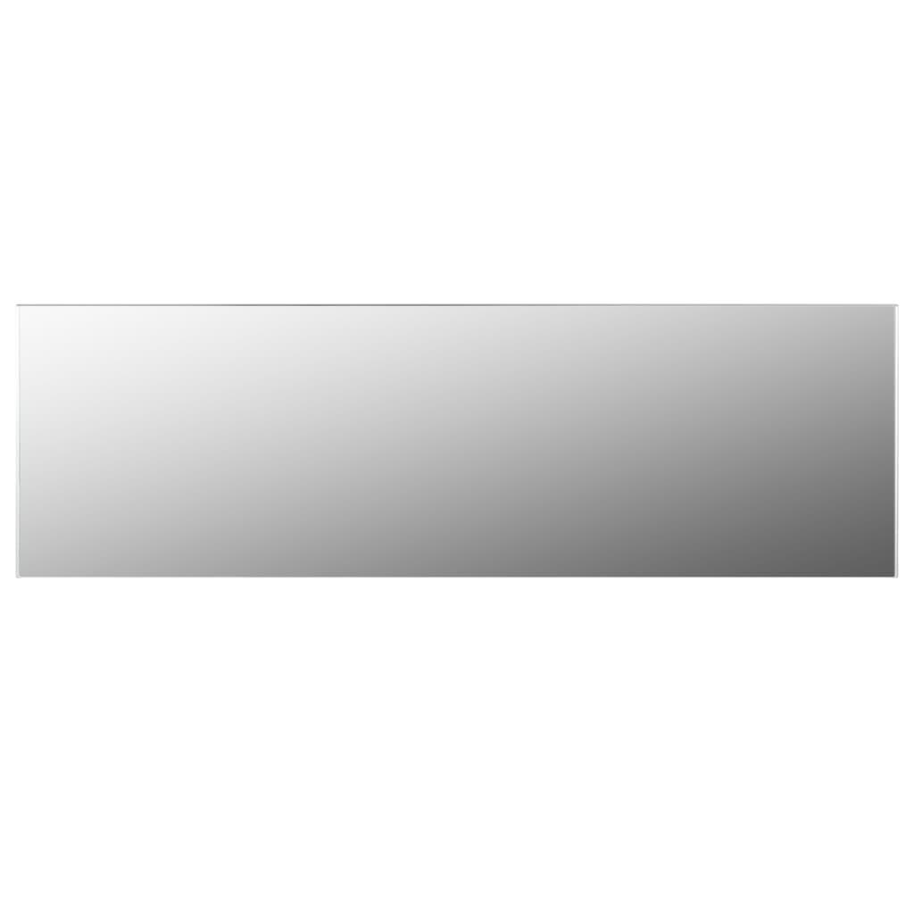 vidaXL Lustro ścienne bez ramy, 150x50 cm, szkło
