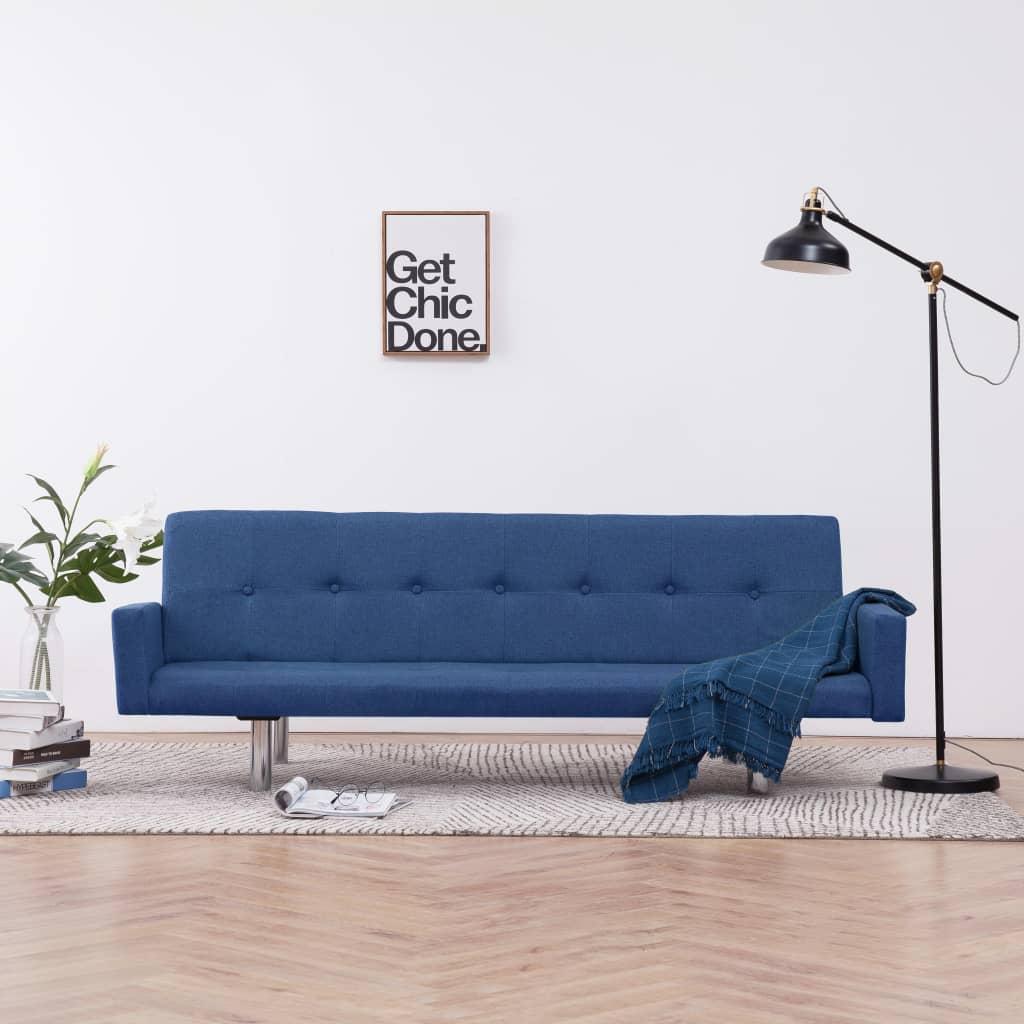 Canapé convertible Bleu Contemporain Confort
