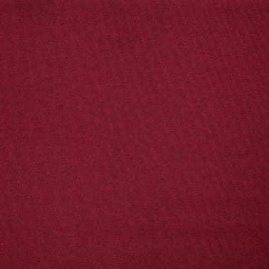 vidaXL Corner Sofa Red Fabric[7/8]