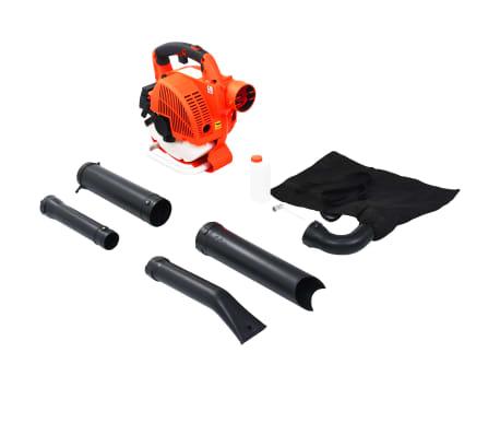 vidaXL Benzininis lapų pūstuvas, 3-1, oranžinis, 26 cc[2/8]