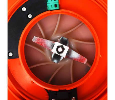 vidaXL Benzininis lapų pūstuvas, 3-1, oranžinis, 26 cc[8/8]