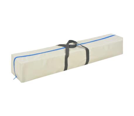 vidaXL Gymnastiekmat met pomp opblaasbaar 400x100x10 cm PVC groen[14/14]