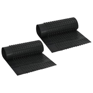 vidaXL Arkusze drenażowe z wgłębieniami, 2 szt, HDPE, 400g/m², 0,5x20m[1/7]